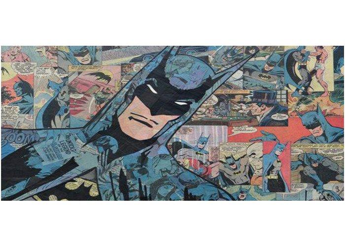 Batman Comic Plantilla para taza