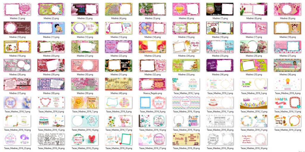 Diseños Tazas Dia de las Madres