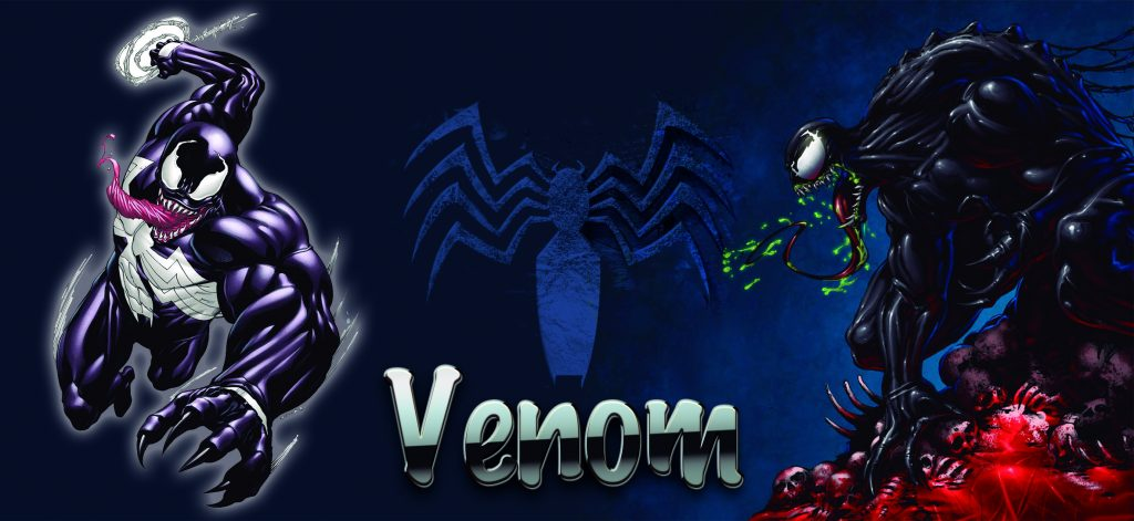 taza venom spiderman