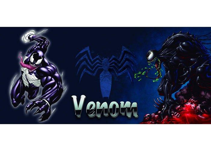 Venom Spiderman Plantilla para taza