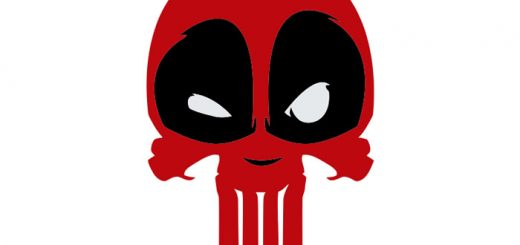deadpool calavera vector