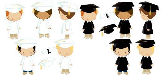 diseños niños graduacion
