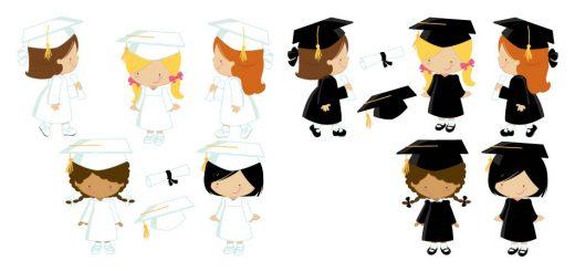 diseños graduacion niñas