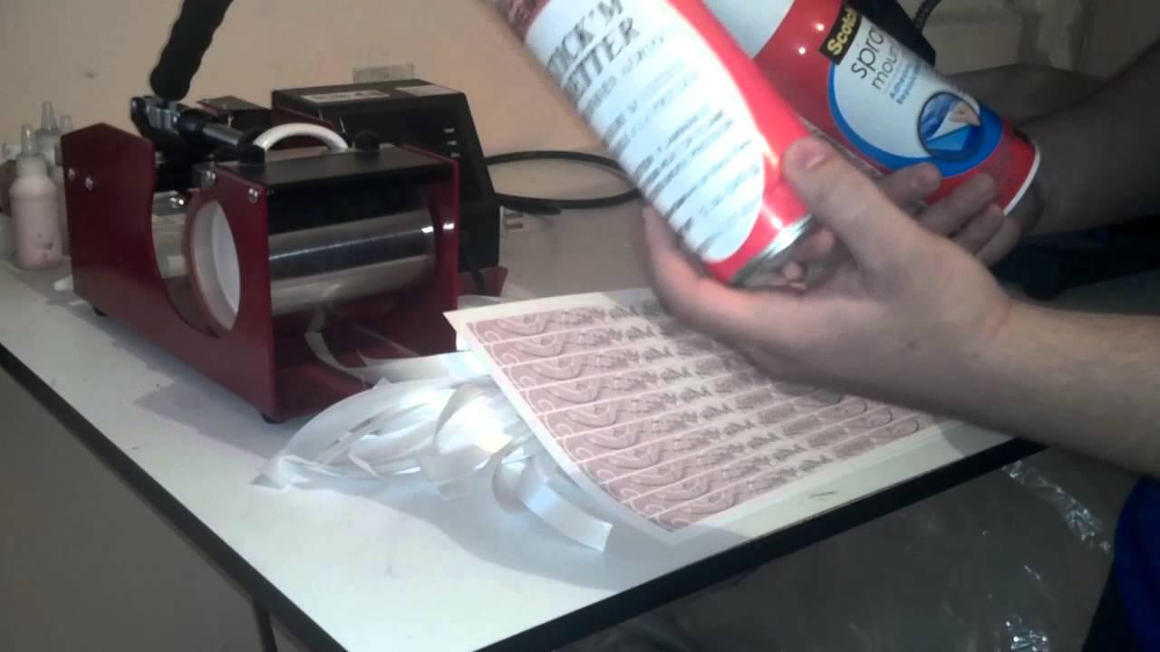 Como sublimar pulseras y consejos de papel