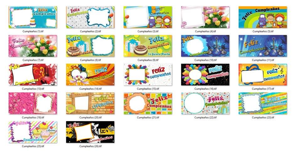 Diseños Tazas Cumpleaños
