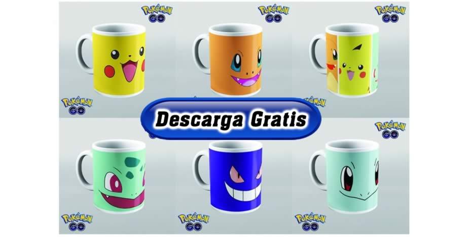 Diseños tazas pokemon calidad alta
