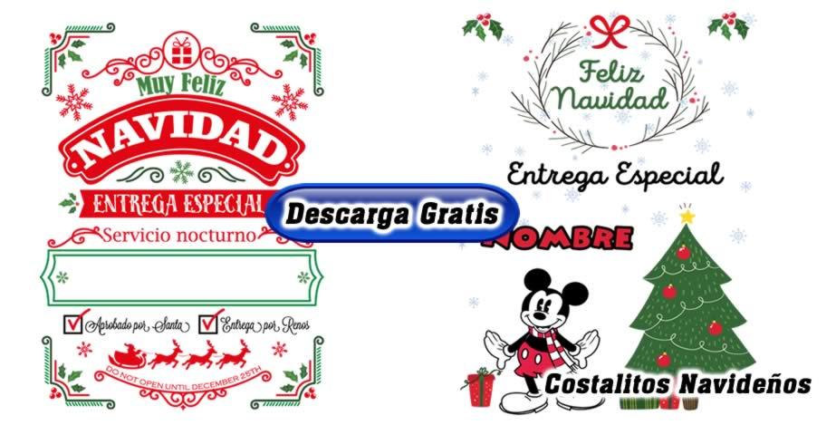 Diseños costalitos navideños