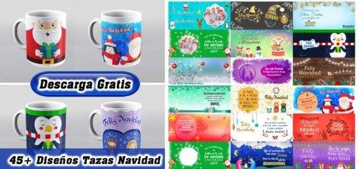 Diseños tazas navidad
