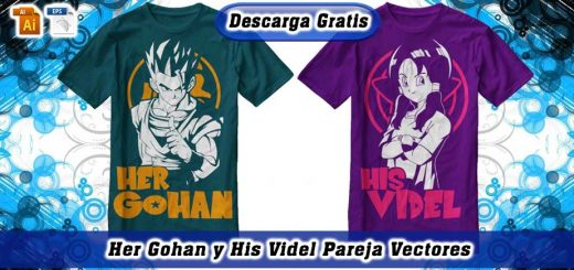 Her Gohan His Videl vectores