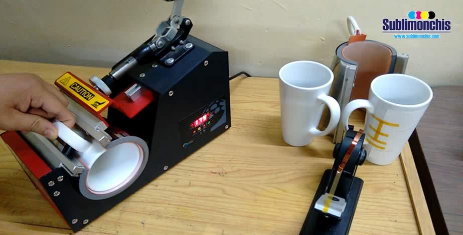 colocacion prensa tazas conicas