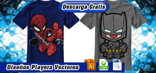 Diseños playeras spiderman iron batman