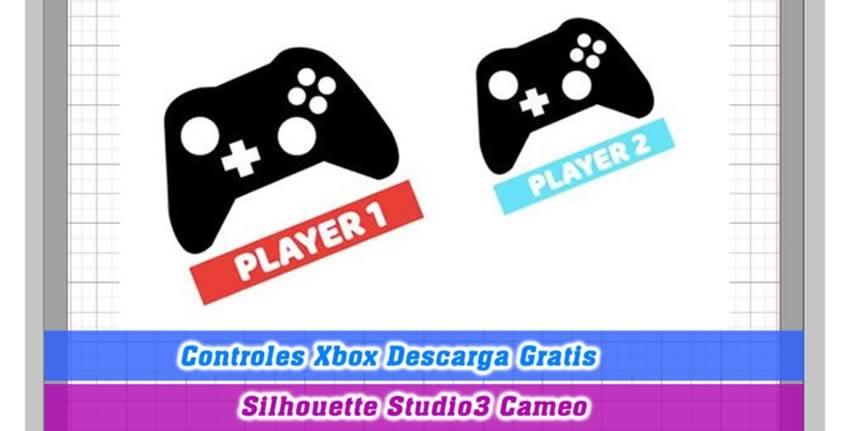 Controles Videojuegos Silhouette Cameo Studio