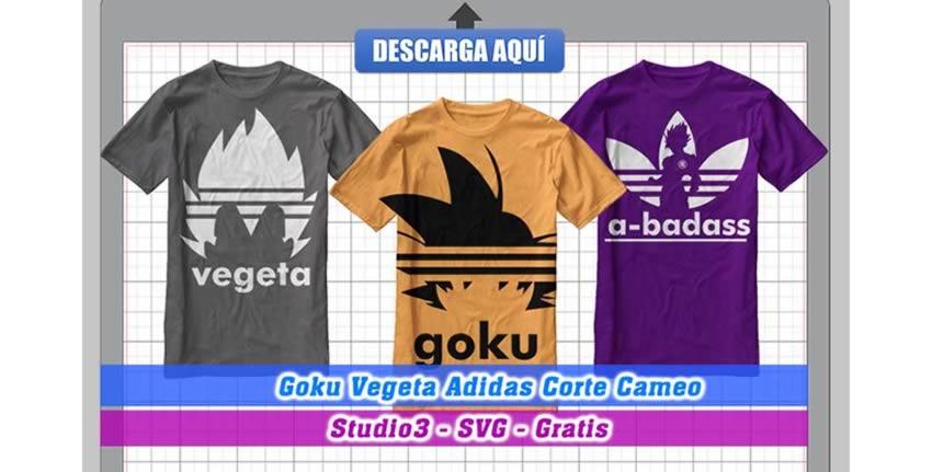 Archivo Goku Vegeta Adidas Cameo 3