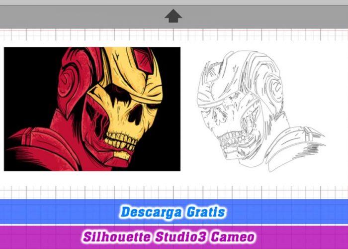 iron man zombie silhouette studio3