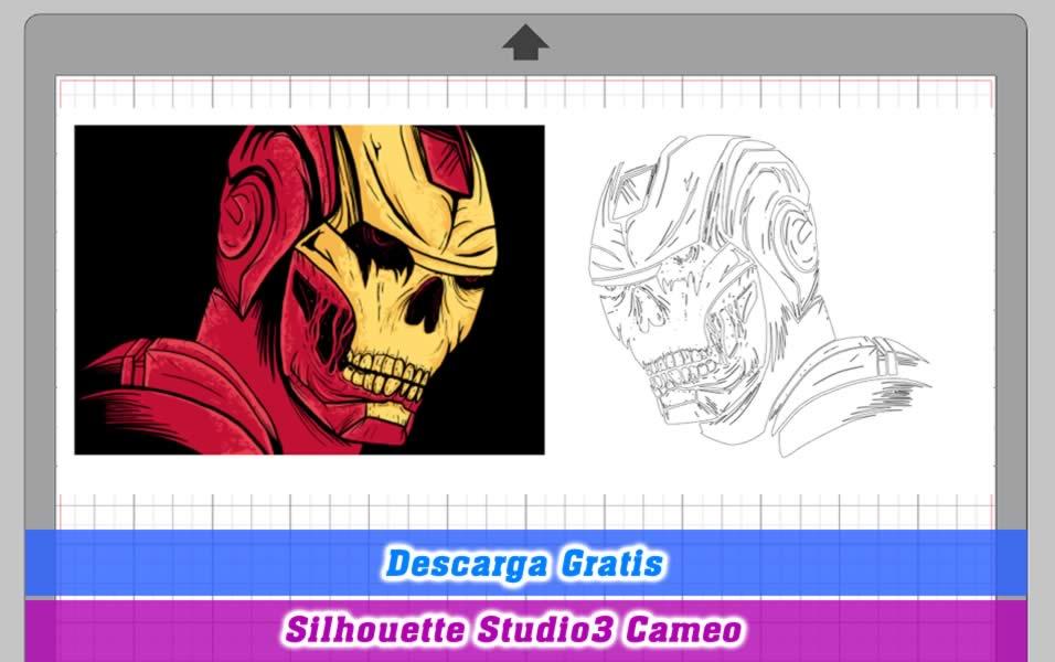 Iron man zombie silhouette studio