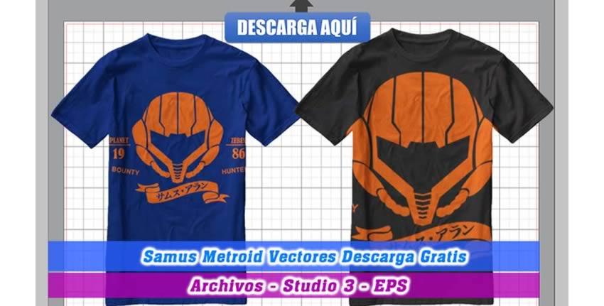 Samus Metroid Vectores Videojuegos Cameo 3