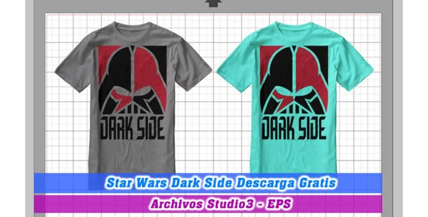 Star Wars darkside Cameo Studio 3