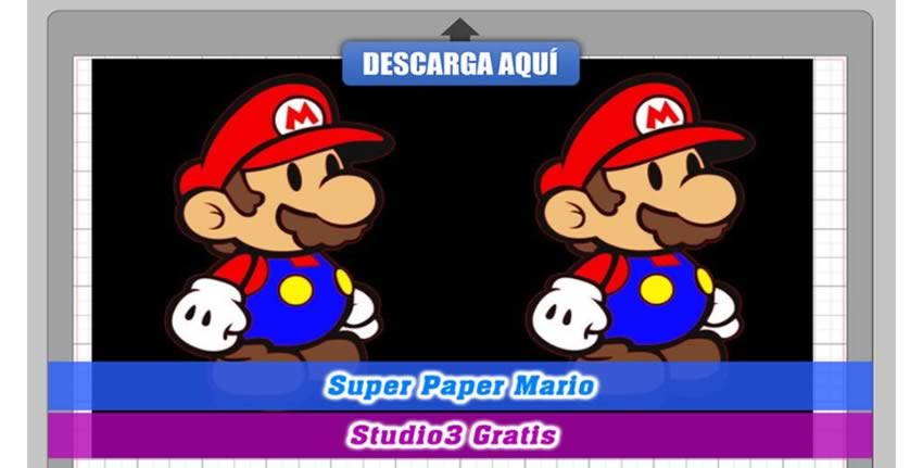 Super Mario Bros Cameo Studio 3