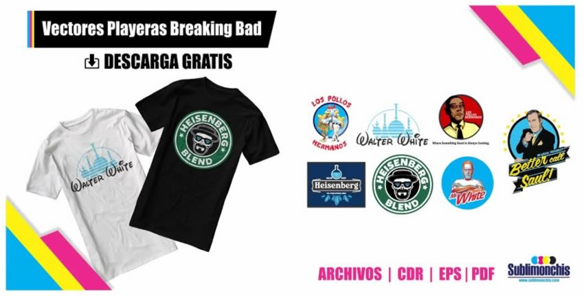 Vectores Playeras Breaking Bad