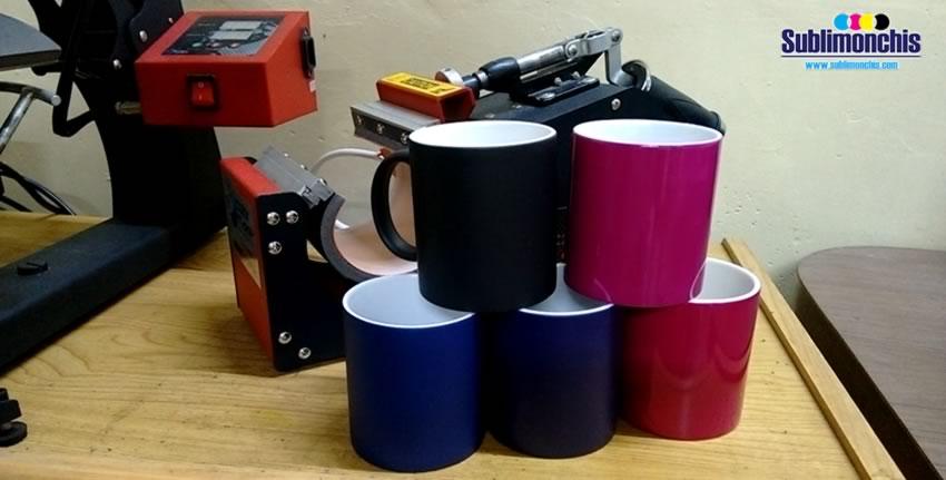 tazas magicas de colores para sublimacion