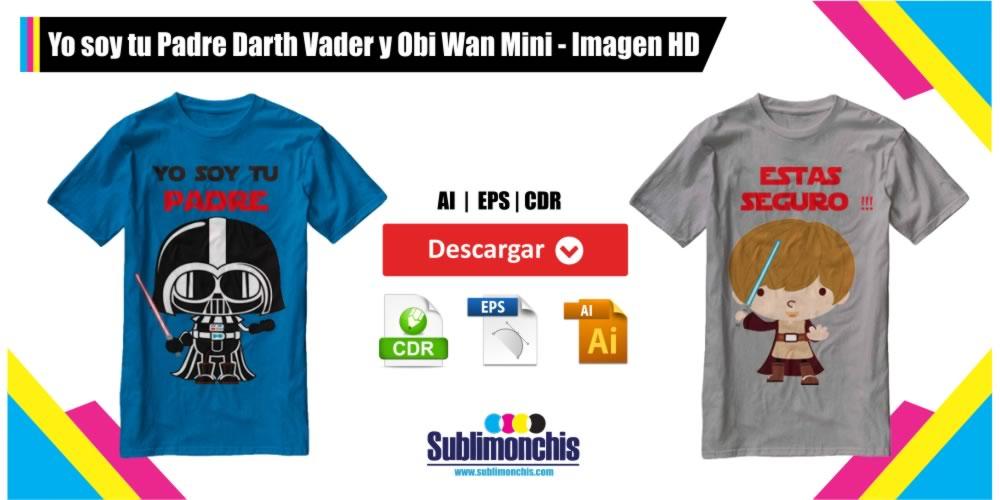 Yo soy tu Padre Darth Vader y Obi Wan Imagen HD