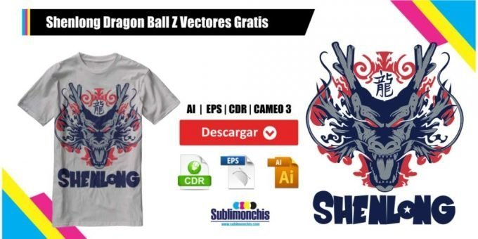Shenlong Dragon Ball Z Vectores Gratis