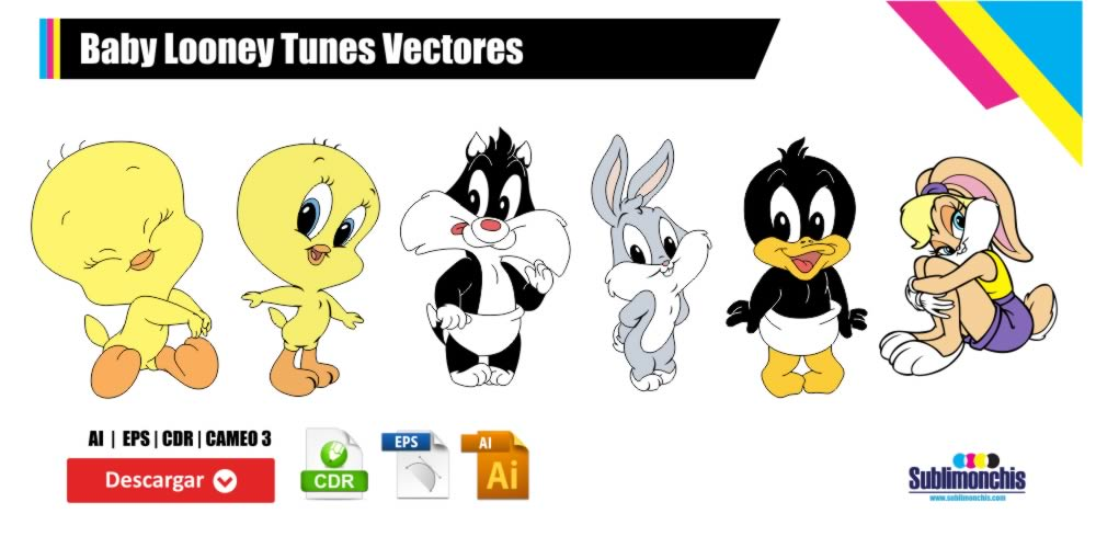 Baby Looney Tunes Vectores