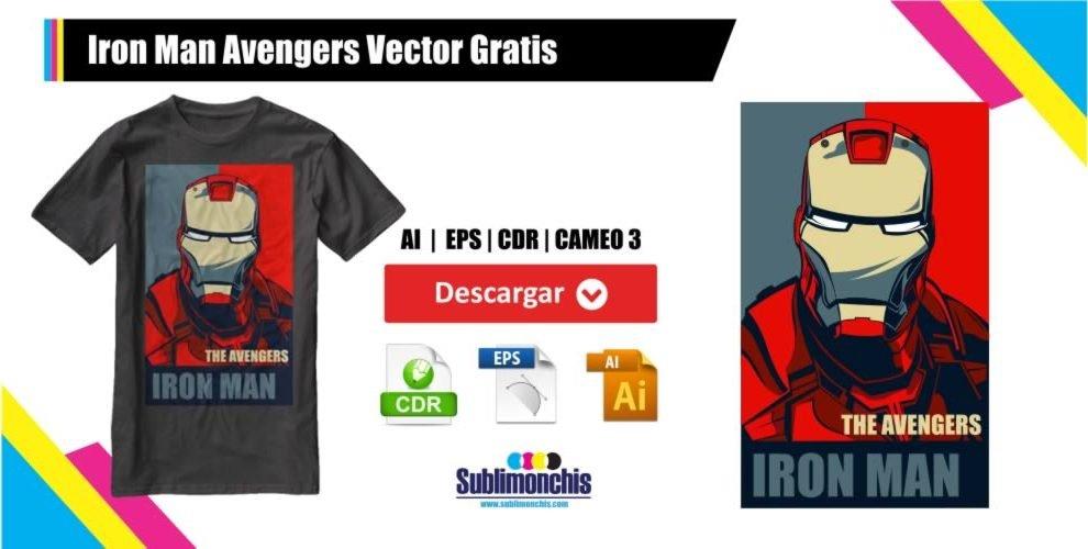 Iron Man Avengers Vectores Gratis