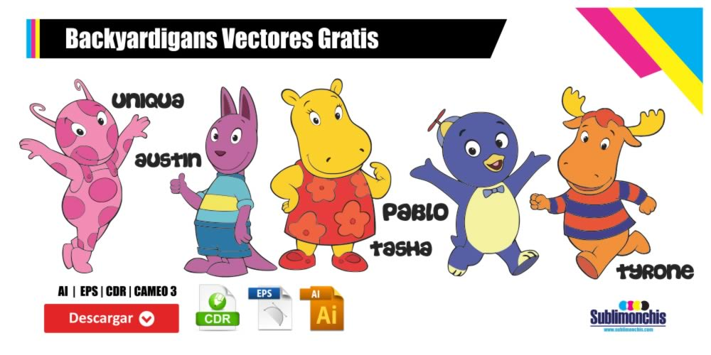 Backyardigans Vectores Gratis