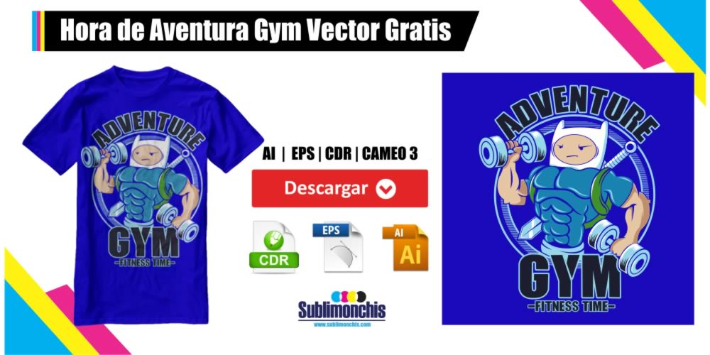 Hora de Aventura Gym Vector