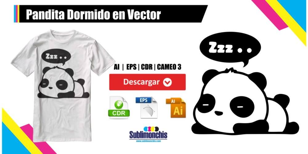 Pandita Dormido en Vector Gratis