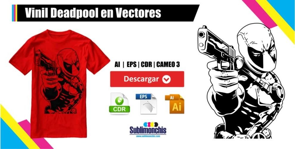 Vinil Deadpool en Vectores